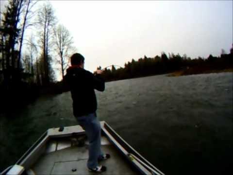 Cowlitz river steelhead fishing fetha styx.wmv