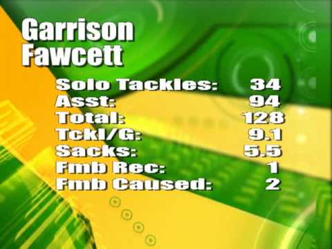 Garrison Fawcett #24 Football Highlights 2009 Show Low AZ Cougars