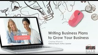 Writing a Business Plan to Grow Your Business