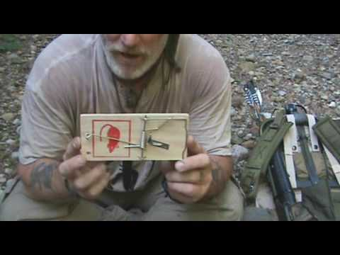 The Small Common Man Trapping Kit