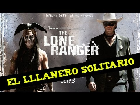 ¡Johnny Depp en The Lone Ranger/El Lllanero Solitario!