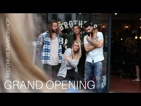 Brothers Barbershop: Grand Opening