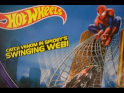 Hot Wheels Web Swing Drop Out (Ultimate Spider Man - Marvel) 2014