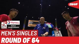 R64 | MS | Anthony Sinisuka GINTING (INA) [6] vs. Georges Julien PAUL (GER) | BWF 2019