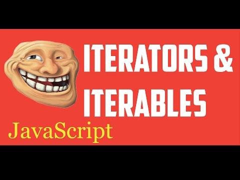 Javascript Iterators tutorial