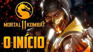 Mortal Kombat 11 - O Início PRIMEIRO capitulo GAMEPLAY completo (PT-BR PS4 PRO)