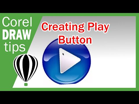 Play button in CorelDraw