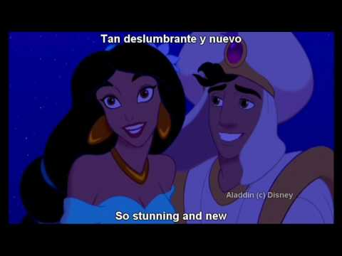 """A Whole New World"" Latin Spanish with S&T"