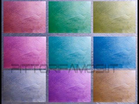 Dipingere salotto salone camera da letto tecnica della spennellata youtube - Muri colorati camera da letto ...