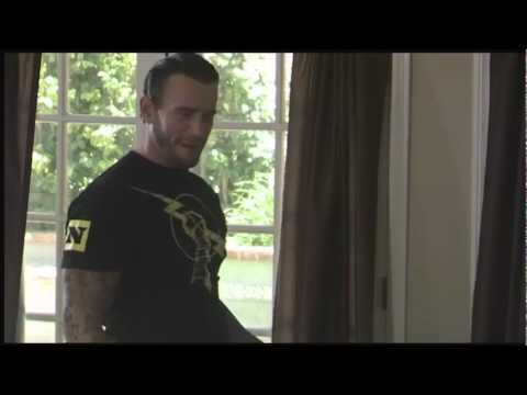Wwe superstar cm punk comes to a six year old boy s home youtube