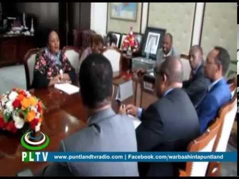 Madaxweynaha DPL oo la kulmay Wasiirka Arrimaha DIbadda Kenya