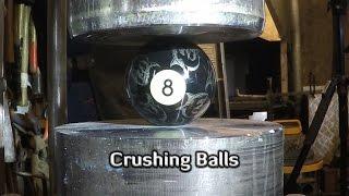 Hydraulic Press | 9 Different Balls