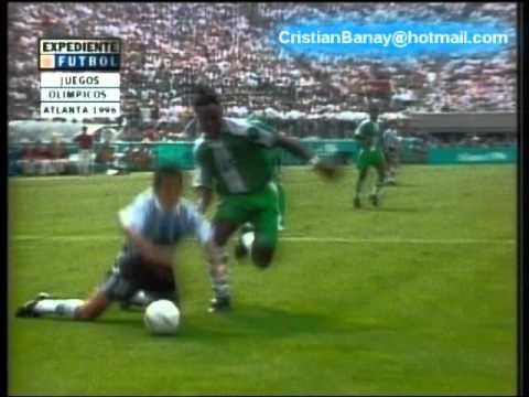 Argentina 2 Nigeria 3 Juegos Olimpicos 1996 Los goles