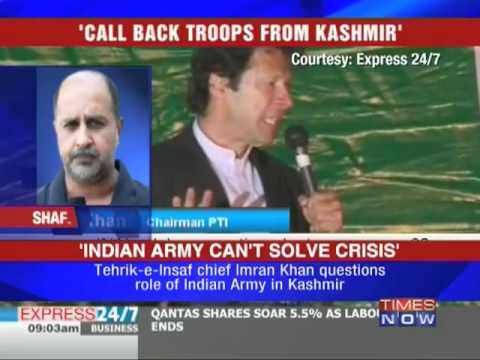 Indian Army will fail in Kashmir: Imran Khan