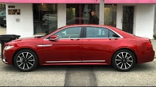2017 Lincoln Continental - One Take