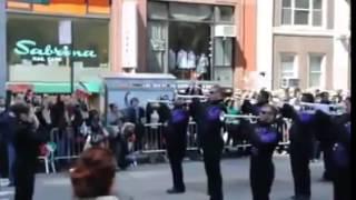 اجرای سرود ای ایران توسط پلیس نیویورک