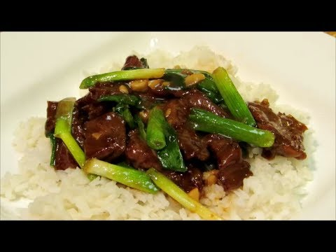How to make Mongolian Beef - The Wolfe Piit