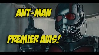 Ant-man le film - Premier Avis ( attention spoilers! )