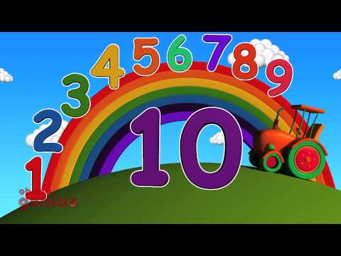 Ten Little Numbers | Numbers Song | Learn Numbers From 1 to 10