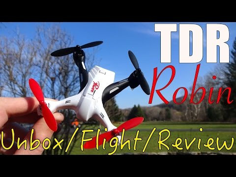 Tenergy TDR Robin : Unboxing, Flights, and Review thumbnail