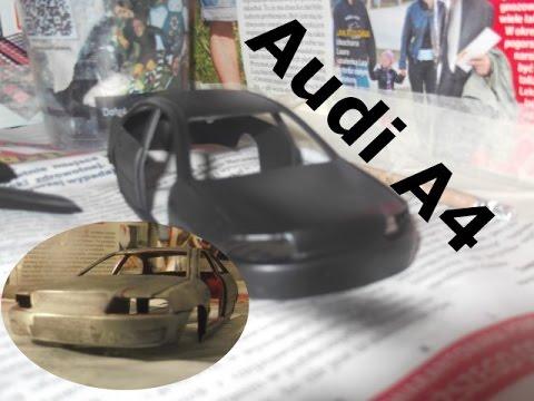 Audi A4 Renowacja + Tuning (MODELARSTWO)