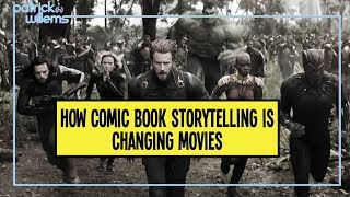 How Comic Book Storytelling is Changing Movies