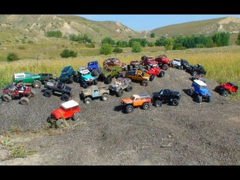 RC ADVENTURES - TTC - SCALE RC TRUCKS - MUDDING, TRIALS, OBSTACLES