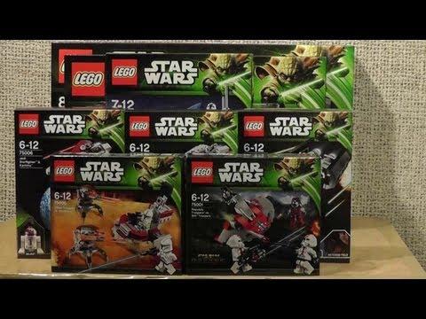 NOWOŚCI STYCZEŃ 2013 LEGO STAR WARS