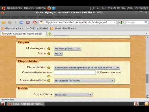 PERSONALIZACION DE MOODLE.wmv
