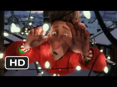 Arthur Christmas #4 Movie CLIP - Wrapping A Bike (2011) HD