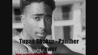 Watch Tupac Shakur Panther Power video