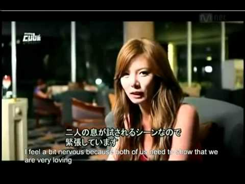 [eng] Hyuna Bubble Pop Behind The Scenes With Lee Joon video