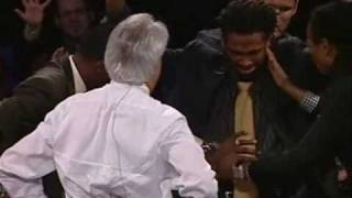 Siphoning the Anointing Out of Benny Hinn