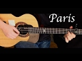 The Chainsmokers - Paris - Fingerstyle Guitar