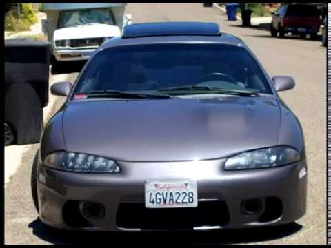My 1997 Mitsubishi Eclipse GST Video