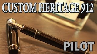 【万年筆】PILOT CUSTOM HERITAGE 912 FA #1 [fountain pen]