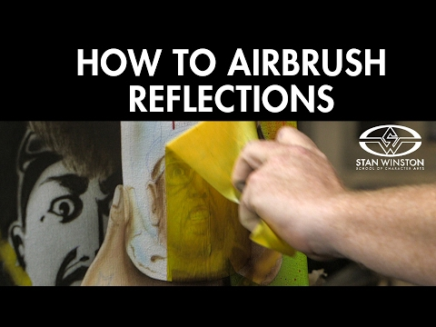 How to Airbrush a Horror Painting: Creating Reflections - FREE CHAPTER