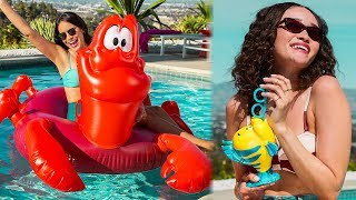 Disney Releases New LITTLE MERMAID Themed Pool Floats, Accessories & More
