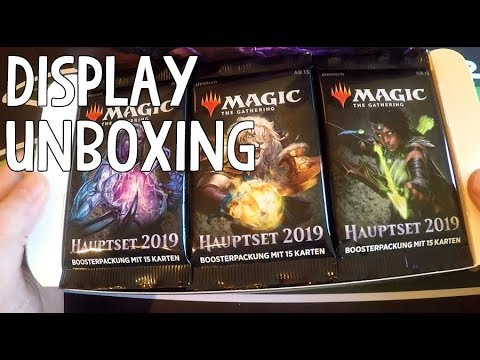 MAGIC 2019 Display Unboxing [Deutsch]