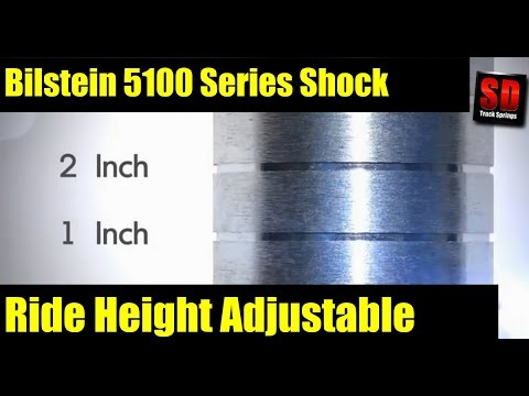 Bilstein 5100 Shocks - Ride Height Adjustable - Tutorial and Review