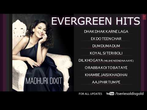 Madhuri Dixit Superhit Songs | Non-Stop Hits | Jukebox | Evergreen...