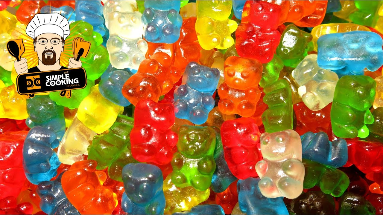 how to make haribo gummy bears softer