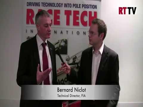 Bernard Niclot talks rule changes