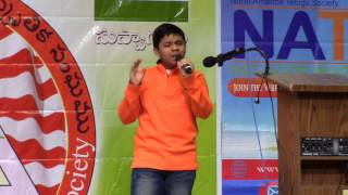 Naalo Nenena by Tarun Donipati - Padutha Theeyaga 2015 USA Auditions