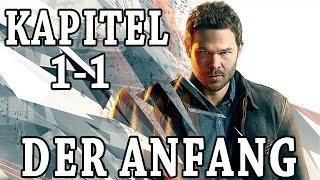Quantum Break Gameplay German Deutsch - Der Anfang, ersten 30min, Kapitel 1-1