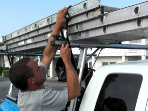 MOV ladder tie down