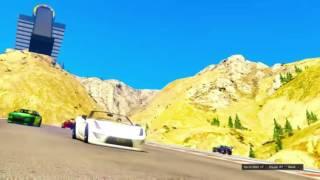 Go Speed Racer Go - Ali Dee and The Deekompressors - Grand Theft Auto Online GTA 5 Music Video