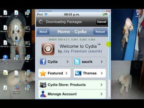 Como poner cydia y installous al ipod