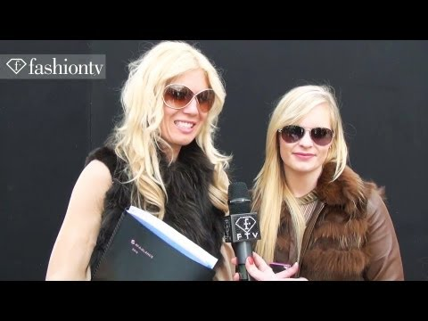 The Blonde Cheries + Marianna Iazzetta at Ermanno Scervino Fall 2012, Milan Fashion Week | FashionTV