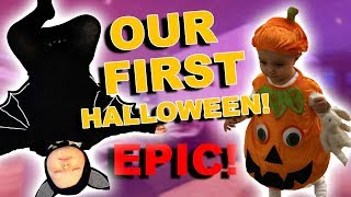 OUR FIRST HALLOWEEN WITH KIDS!! THE BEST HALLOWEEN!!